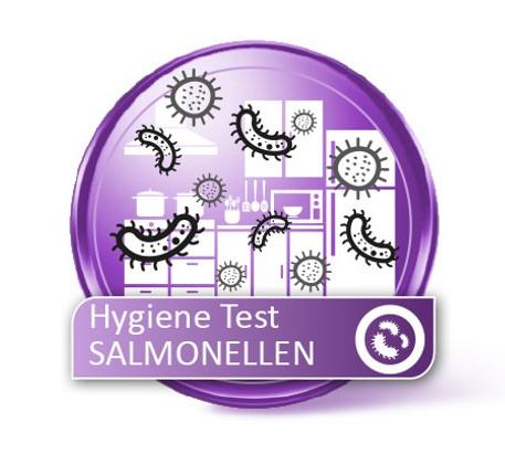 Kühlschrank Hygiene Test auf Salmonellen