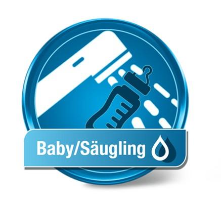 Wassertest Baby