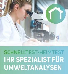 Schnelltest-Heimtest ist Ihr Experte für Laboranalysen im Umweltbereich!