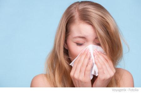 Schimmel kann zu einer Allergie führen.