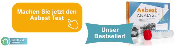Asbest Test aus deutschem Fachlabor - schnell, sicher, zuverlässig!